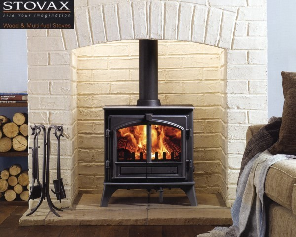 Wood Burning Stove Surround Ideas